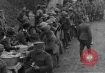 Image of US Army chow line World War I France, 1917, second 34 stock footage video 65675071103