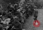 Image of US Army chow line World War I France, 1917, second 35 stock footage video 65675071103