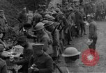 Image of US Army chow line World War I France, 1917, second 36 stock footage video 65675071103