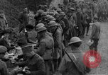 Image of US Army chow line World War I France, 1917, second 37 stock footage video 65675071103