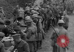 Image of US Army chow line World War I France, 1917, second 38 stock footage video 65675071103