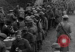 Image of US Army chow line World War I France, 1917, second 39 stock footage video 65675071103