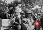 Image of US Army chow line World War I France, 1917, second 42 stock footage video 65675071103
