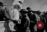 Image of US Army chow line World War I France, 1917, second 46 stock footage video 65675071103