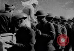 Image of US Army chow line World War I France, 1917, second 47 stock footage video 65675071103