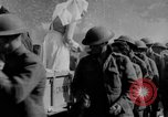 Image of US Army chow line World War I France, 1917, second 49 stock footage video 65675071103