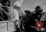 Image of US Army chow line World War I France, 1917, second 50 stock footage video 65675071103