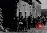 Image of US Army chow line World War I France, 1917, second 57 stock footage video 65675071103