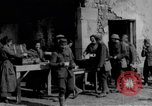 Image of US Army chow line World War I France, 1917, second 62 stock footage video 65675071103