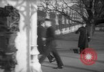 Image of British officials entering the House of Commons grounds London England United Kingdom, 1938, second 51 stock footage video 65675071127