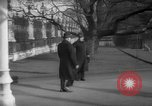 Image of British officials entering the House of Commons grounds London England United Kingdom, 1938, second 52 stock footage video 65675071127