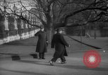 Image of British officials entering the House of Commons grounds London England United Kingdom, 1938, second 53 stock footage video 65675071127