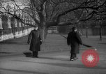 Image of British officials entering the House of Commons grounds London England United Kingdom, 1938, second 54 stock footage video 65675071127