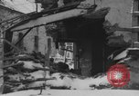 Image of US Soldiers examine damaged US M4 and German Panther tank Sterpigny Belgium, 1945, second 28 stock footage video 65675071156