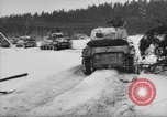 Image of 7th Armored Tanks Belgium, 1945, second 38 stock footage video 65675071158