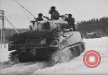Image of 7th Armored Tanks Belgium, 1945, second 43 stock footage video 65675071158