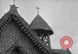 Image of Navy chapel Palau Islands, 1944, second 2 stock footage video 65675071178
