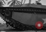 Image of amphibious landing Palau Islands, 1944, second 13 stock footage video 65675071182
