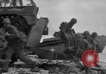 Image of amphibious landing Palau Islands, 1944, second 32 stock footage video 65675071182