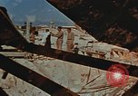 Image of Religious services at a bomb crater on Midway Island Pacific Ocean, 1942, second 2 stock footage video 65675071189