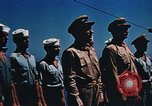 Image of Religious services at a bomb crater on Midway Island Pacific Ocean, 1942, second 53 stock footage video 65675071189