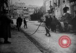 Image of fire fighting Verdun-sur-Meuse France, 1918, second 29 stock footage video 65675071205