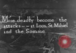 Image of German attack in France France, 1916, second 1 stock footage video 65675071216