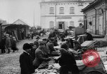 Image of market place Russia, 1918, second 10 stock footage video 65675071231