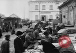 Image of market place Russia, 1918, second 11 stock footage video 65675071231
