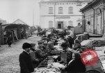 Image of market place Russia, 1918, second 13 stock footage video 65675071231