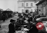 Image of market place Russia, 1918, second 15 stock footage video 65675071231