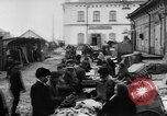 Image of market place Russia, 1918, second 16 stock footage video 65675071231