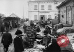 Image of market place Russia, 1918, second 19 stock footage video 65675071231