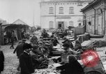 Image of market place Russia, 1918, second 20 stock footage video 65675071231