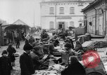Image of market place Russia, 1918, second 21 stock footage video 65675071231