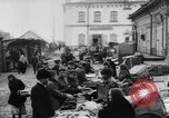 Image of market place Russia, 1918, second 23 stock footage video 65675071231