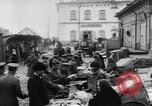 Image of market place Russia, 1918, second 24 stock footage video 65675071231