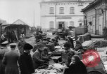 Image of market place Russia, 1918, second 26 stock footage video 65675071231