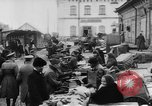 Image of market place Russia, 1918, second 27 stock footage video 65675071231