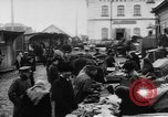 Image of market place Russia, 1918, second 33 stock footage video 65675071231