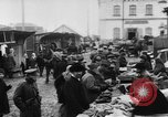 Image of market place Russia, 1918, second 34 stock footage video 65675071231