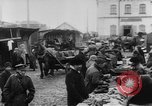 Image of market place Russia, 1918, second 35 stock footage video 65675071231