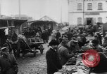 Image of market place Russia, 1918, second 37 stock footage video 65675071231