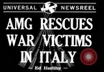 Image of evacuation Italy, 1944, second 5 stock footage video 65675071246