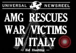 Image of evacuation Italy, 1944, second 6 stock footage video 65675071246