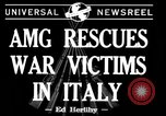 Image of evacuation Italy, 1944, second 7 stock footage video 65675071246