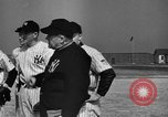 Image of NY Yankees and NY Giants in baseball spring training Atlantic City New Jersey USA, 1944, second 13 stock footage video 65675071249