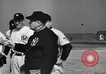 Image of NY Yankees and NY Giants in baseball spring training Atlantic City New Jersey USA, 1944, second 14 stock footage video 65675071249