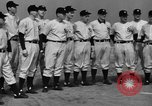 Image of NY Yankees and NY Giants in baseball spring training Atlantic City New Jersey USA, 1944, second 16 stock footage video 65675071249