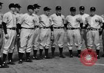 Image of NY Yankees and NY Giants in baseball spring training Atlantic City New Jersey USA, 1944, second 17 stock footage video 65675071249